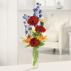 """Gerbera Greetings for Secretaries Day"""